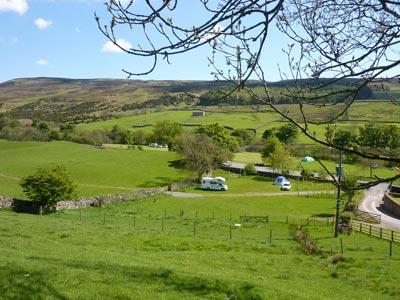 Swaledale Campsite & Caravan Park Reeth   Scabba Wath